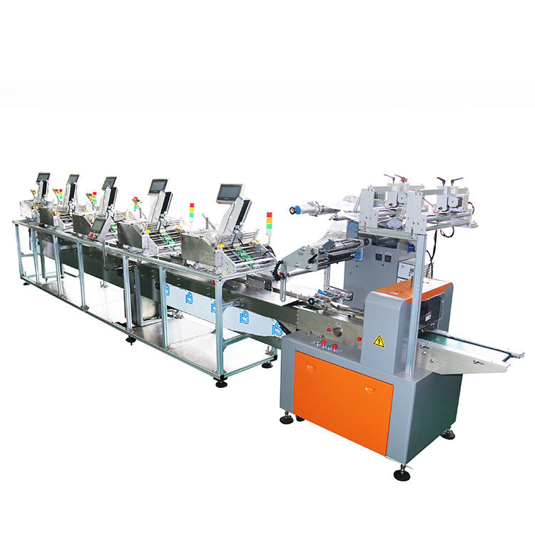 50m/Minute Packing Visiting Card Feeder Machine